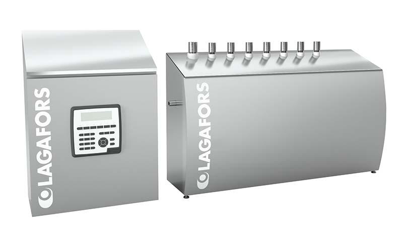 Sistema de limpieza automático Lagafors®, ACS II