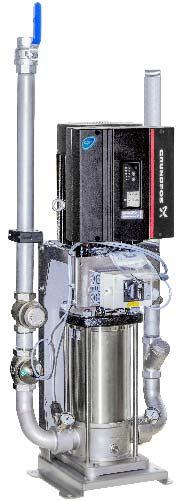 Unidades booster Scanfoam