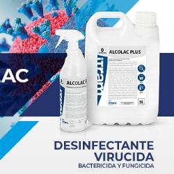 ALCOLAC PLUS Desinfectante
