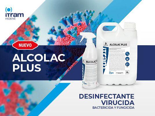 ALCOLAC PLUS desinfectante para el SARS-CoV-2