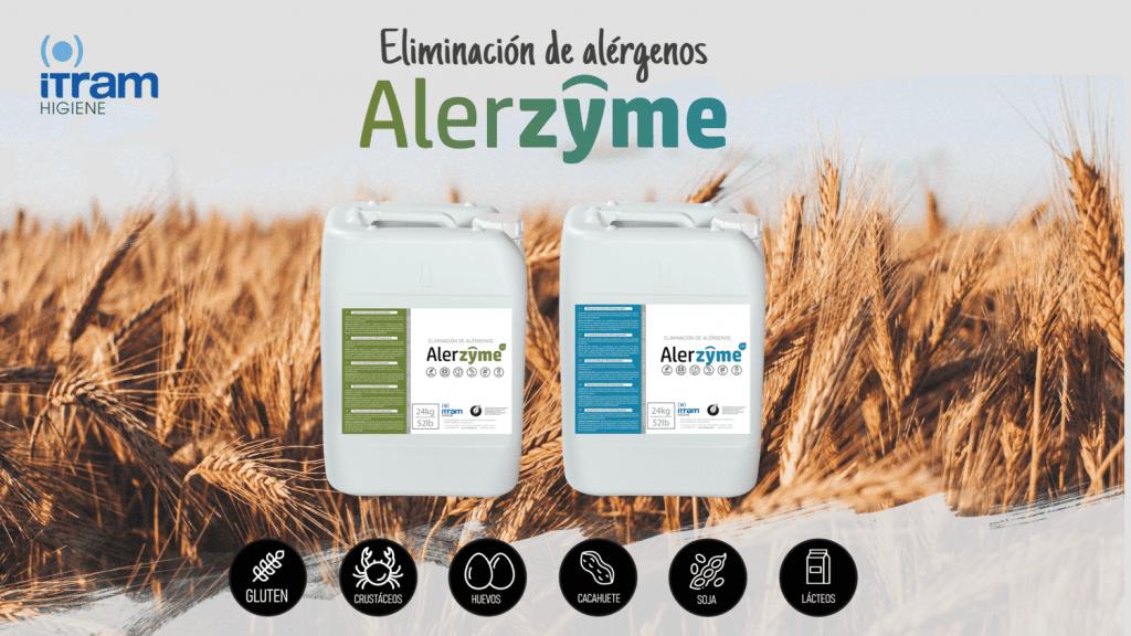 eliminación de alérgenos con alerzyme
